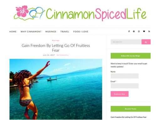 Cinnamon Spiced Life