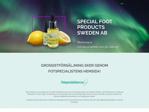 Special Foot Products